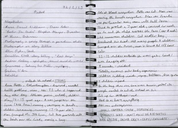 Lisa Potts Notes