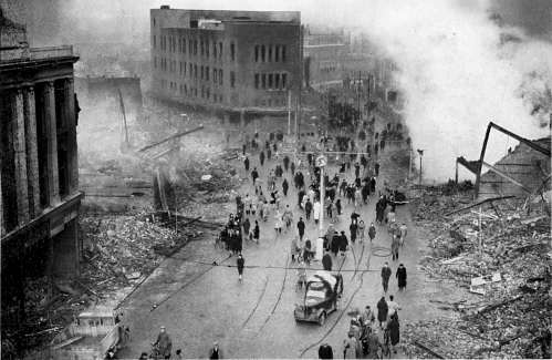 Broadgate After The Blitz