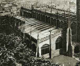 Coventry Cathedral Before The Blitz