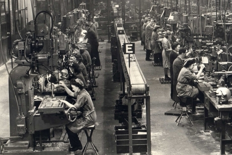 1941 Rootes Show Factory and its workers