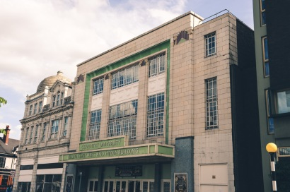 The Gaumont Palace/Odeon Cinema, Jordan Well, The Ellen Terry Building (Architect W.H.Watkins 1929-31)