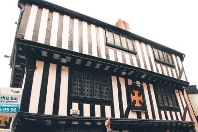 The Golden Cross, Hay Lane, one of the oldest pubs in Coventry dated back to 1583.