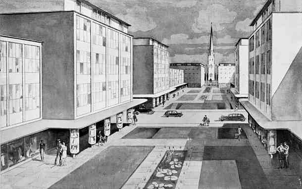 Precinct Plan 1945