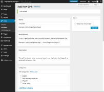 Adding links to blog
