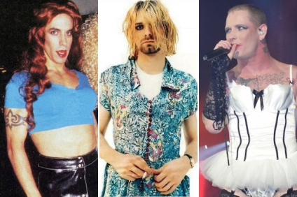 Anthony Kiedis, Kurt Cobain, Corey Taylor