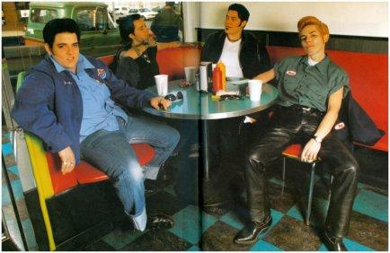 drag kings at diner-SF-1997sm