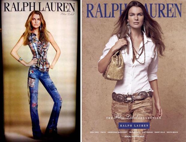 Filippa Hamilton for Ralph Lauren