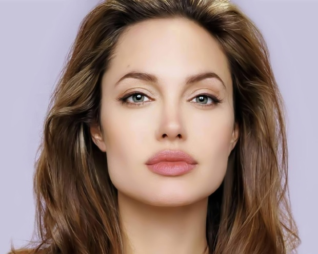 Angelina Jolie and symmetry