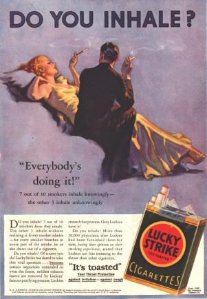 """Everybody's Doing It"" Lucky Strike"