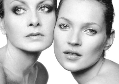 Kate and Twiggy