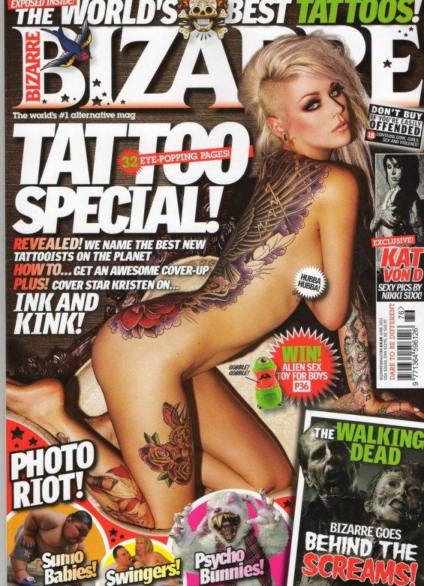 Bizarre Magazine Cover