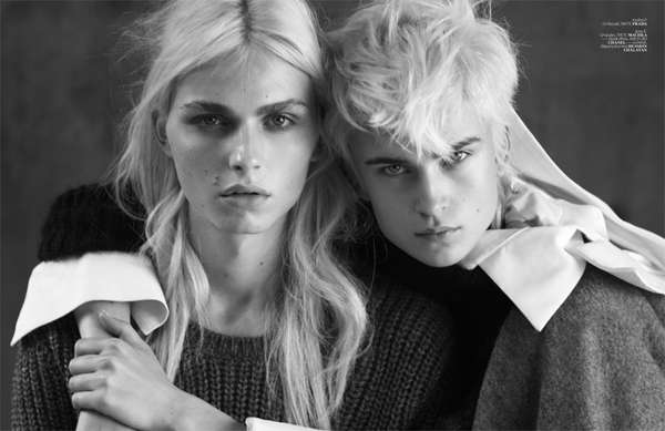 Andrej Pejic for Vogue