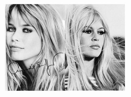 Claudia Schiffer v Bridgette Bardot