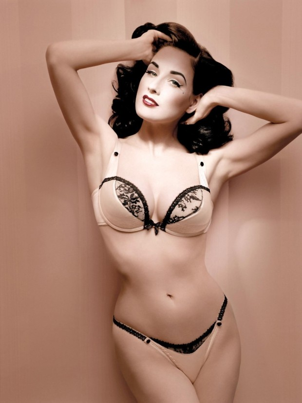 Dita Von Teese has her own lingerie line...no wonder!
