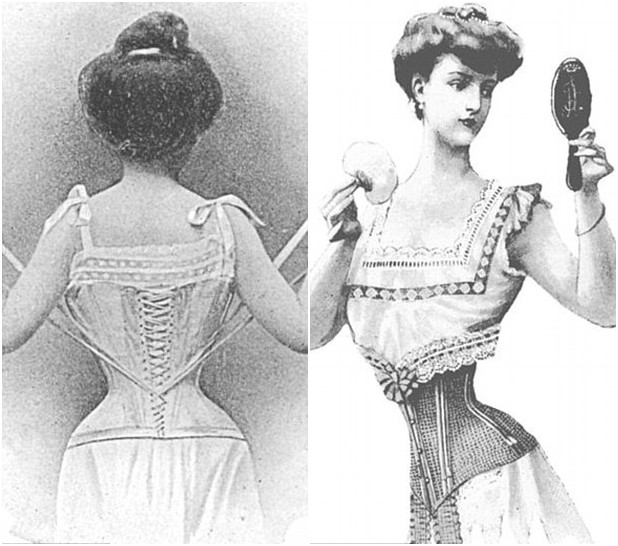 Corsets are often associated to femininity